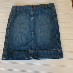 Gap Jean Denim Skirt Size 12